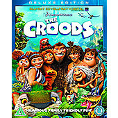 The Croods (3D Blu-ray, Blu-ray & UV)