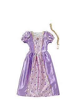Disney Princess Rapunzel Reversible Dress-Up Costume years 05 - 06 Purple/White