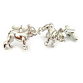 French Bulldog Pet Dog Cufflinks - ck949