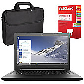 "Lenovo B50-50 80S2000NUK 15.6"" Laptop With BullGuard Internet Security & Case"