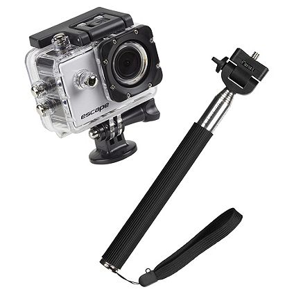Half price on	Kitvison Escape HD5 & Selfie Stick