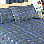 Single Tartan Duvet Set