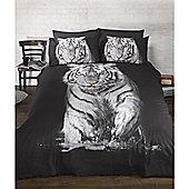 Rapport Urban Unique Tiger Photography Quilt Set Single