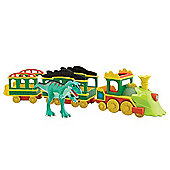 Tomy Dinosaur Train Lights and Sounds Train with Laura Figure