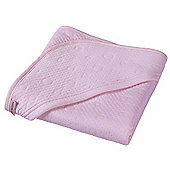 Clair de Lune Hooded Blanket (Cotton Candy Pink)