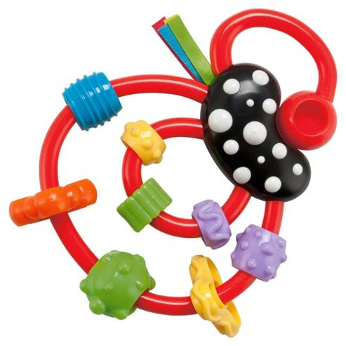Tesco Loves Baby Squiggle Rattle