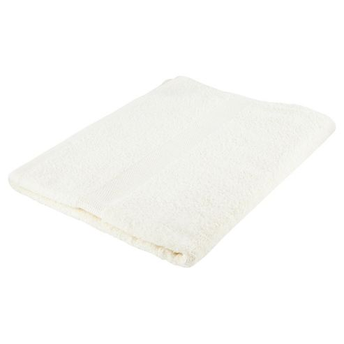 Tesco Basic vanilla Bath Towel