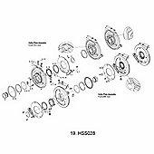 Truvativ ISCG Spacers (0.5/1.0/1.5/2.0/2.5/3.0mm) for HammerSchmidt (3 pcs of each)