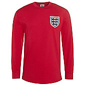 England 1966 Away Shirt No6 Red XL