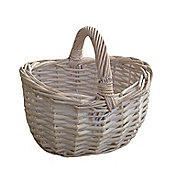 Wicker Valley Shopper Basket