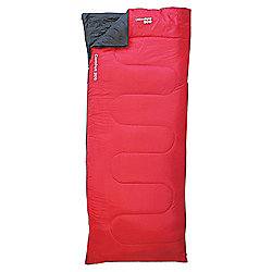 Yellowstone Comfort 200 Sleeping Bag, Red