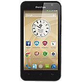 Prestigio PSP3450 MultiPhone 3450 DUO (4.5) 4GB Dual Sim Smartphone Android 4.4 - Black
