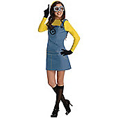 Female Minion - Adult Costume Size: 10-12