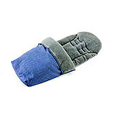 Baby Elegance Jersey Lined Footmuff - Denim