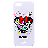 Doodle Me Minnie Mouse Personalised iPhone 5/5s cover