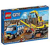 LEGO City Excavator and Truck 60075