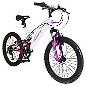 "Muddyfox Eclipse 20"" Kids' Dual Suspension Mountain Bike"
