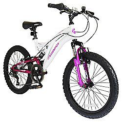 "Muddyfox Eclipse 20"" Kids' Dual Suspension Mountain Bike"