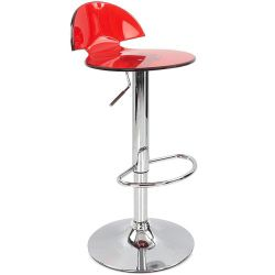 Alfonso Bar Stool - Red