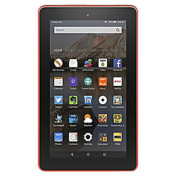 "Amazon Fire 7, 7"", Tablet, 8GB, WiFi - Tangerine"