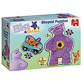 Jumbo Big & Small 2-in-1 Jigsaw Puzzles (12 & 24 Pc)