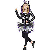 Skelly Cat - Child Costume 10-12 years