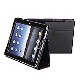 iPad Leather Folding Case Black Patent