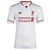 New Balance Liverpool FC Away Jersey 15/16 - White