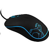 OZONE Neon Precision 6400dpi Laser Ambidextrous Gaming Mouse - Blue