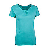 Robinson Womens Womens Ladies Casual Breathable Short Sleeve Shirt Tee Shirt Top - Blue