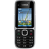 NOKIA C2-01 Mobile Phone Black