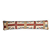 Woven Magic Union Jack Patriotic Plaids Draught Excluder