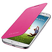 Samsung Original Flip Case for Samsung Galaxy S4 - Pink