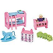Rosebud Village House Children's Bedroom Set