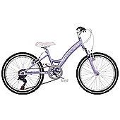 """Claud Butler Vixen Kids' 20"""" Wheel Purple Junior Bike"""