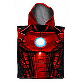 Iron Man Hooded Poncho Towel