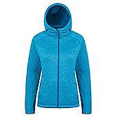 Mountain Warehouse Nevis Womens Fur Lined Hoodie - Ocean blue
