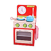 Santoys Oven and Stove Set (Red)