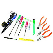 Maplin 14 Part Electronics Tool Kit