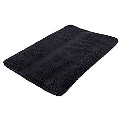 Tesco Basics Bath Sheet, Black