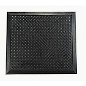 Floortex Doortex Ripple Design Anti-Fatigue Mat - 71cm x 78cm