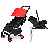 ickle bubba Aurora Isofix Travel System (Red)