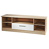 Welcome Furniture Living Room Wide Open TV Unit - Modern Oak