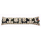 Country Club Woodland Design Tapestry Draught Excluder, Scottie Dog