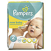 Pampers New Baby Size 2 Carry Pack - 32 nappies