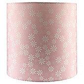 Tesco Daisy Print Ceiling Shade Pink