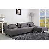 Leader Lifestyle Maison Sofa Bed - Pearl Grey Fabric