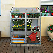 Palram Lean To with integral shelves GROW STATION
