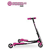 Yvolution Y Fliker A1 Air Kids' Scooter, Pink