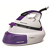 Morphy Richards 333000 Steam Generator 2600 watt Iron White & Purple
